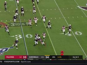 Watch: Cards dial up third-down QB bootleg with Murray to seal win over Falcons