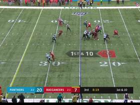 Watch: Next Gen Stats: Jameis Winston's struggles under pressure vs. Panthers