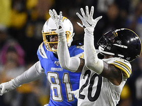 Watch: Cameron Sutton intercepts Rivers to secure Steelers' win