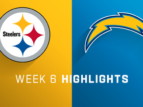 Watch: Steelers vs. Chargers highlights | Week 6