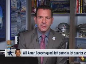 Watch: Rapoport: Amari Cooper's injury not considered 'long-term'