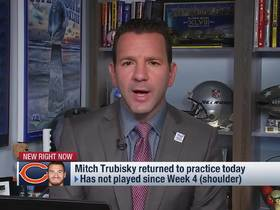 Watch: Rapoport details likelihood of Mitchell Trubisky returning in Week 7