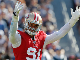 Watch: Wyche: Arik Armstead is having his breakout year for 49ers