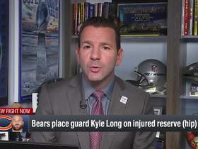 Watch: Rapoport: Kyle Long being placed on IR could mark end of time with Bears