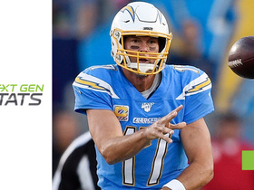 Watch: Next Gen Stats: The area where Philip Rivers struggled most on 'SNF'