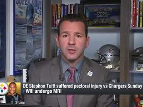 Watch: Rapoport: Stephon Tuitt will likely miss a few weeks 'at least'