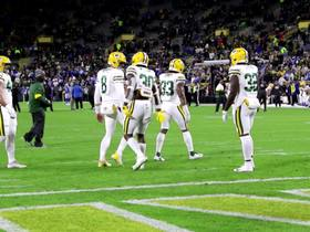 Watch: Jamaal Williams dances on the field before Lions-Packers