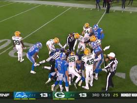 Watch: Packers flub punt return, turn ball over to Lions at 25-yard line