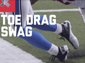 Watch: Nate Burleson shares top Week 6 toe-drag swag catches