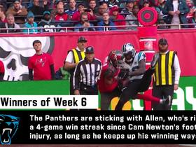 Watch: Gregg Rosenthal's Top 3 winners and losers of Week 6