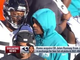 Watch: Rapoport breaks down Rams' trade for Jalen Ramsey