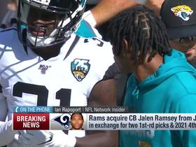 Watch: Deion Sanders reacts to Rams' trade for Jalen Ramsey
