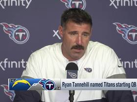 Watch: Mike Vrabel explains decision to name Tannehill Titans' starting QB