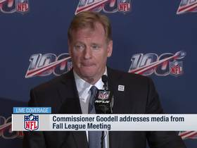 Watch: Goodell discusses chances of 17-game regular season in NFL