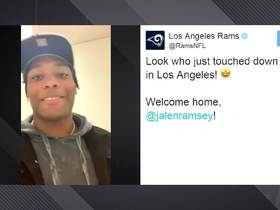 Watch: Jalen Ramsey has message for Rams fans on Twitter