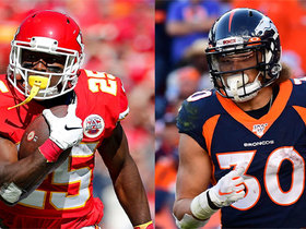 Watch: Chiefs vs. Broncos: Which team's RB duo would you rather have?