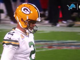 Watch: Packers kicker Mason Crosby reflects on his first ever Lambeau Leap
