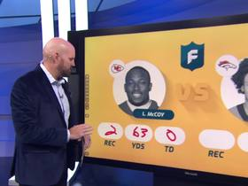 Watch: 'TNF' stat projections for Chiefs-Broncos | 'NFL Fantasy Live'