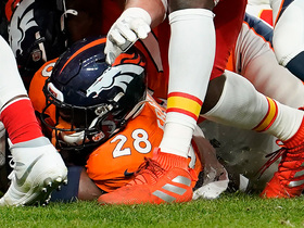 Watch: Freeman caps Broncos' opening drive with strong TD run behind Janovich