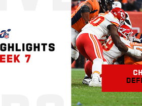 Watch: Every Chiefs sack vs. Broncos on 'TNF' | Week 7