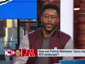 Watch: How will Patrick Mahomes' injury impact AFC landscape?