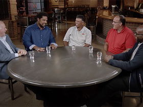 Watch: NFL 100 Rountable: Former O-linemen share their 'Welcome to the NFL' moment