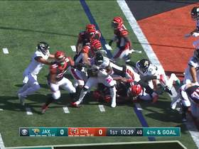 Watch: Bengals stuff Fournette on fourth-and-goal