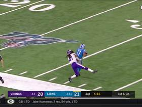 Watch: Stafford dials launch codes to Marvin Hall for 47 yards
