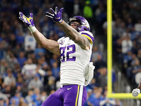 Watch: Lions lose track of Kyle Rudolph on sneaky 15-yard TD