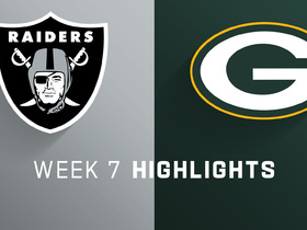Watch: Raiders vs. Packers highlights | Week 7