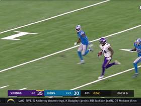 Watch: Kirk Cousins dials LAUNCH CODES to Stefon Diggs for clutch 66-yard completion