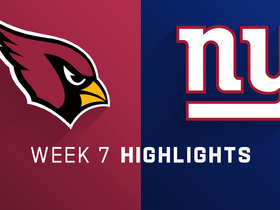 Watch: Cardinals vs. Giants highlights | Week 7