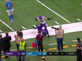 Watch: Trae Waynes comes down with impressive game-sealing INT