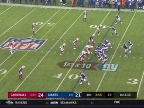 Watch: Chandler Jones' best plays vs. the Giants | Week 7