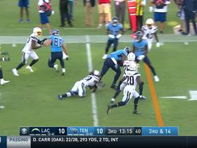 Watch: Jonnu Smith slips multiple would-be tackles for SPECTACULAR 35-yard catch and run