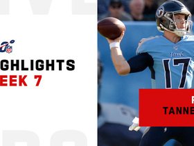 Watch: Ryan Tannehill's best passes from Titans starting debut | Week 7