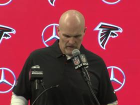 Watch: Dan Quinn reacts to Falcons' fifth-straight loss