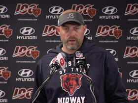 Watch: Nagy details 'frustrations' in Bears' locker room after loss to Saints