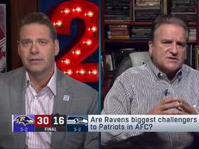 Watch: Are Ravens the Pats' top AFC challengers? Mariucci weighs in
