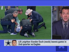 Watch: Rapoport: Cowboys not worried about Vander Esch, Quinn injuries