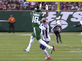 Watch: Demaryius Thomas burns former team with Darnold's third-and-long dime
