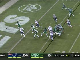 Watch: Darnold bats high snap out of end zone for safety