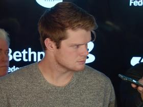 Watch: Darnold explains 'seeing ghosts' sideline comment