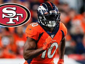 Watch: Garafolo details 49ers' trade for Emmanuel Sanders