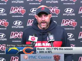 Watch: Nagy discusses what he's looking for Trubisky to improve on
