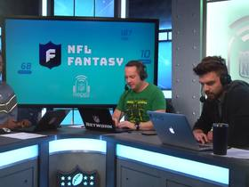 Watch: NFL Fantasy Football Podcast: Mid Season Re-Draft: Ekeler goes 3