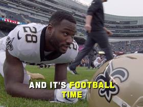 Watch: Mic'd Up: The Saints have a beautiful Theodore day | Week 7