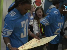Watch: Lions held 'Real Players Don't Bully' pep rally