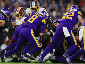 Watch: Redskins' D halts Cousins QB sneak on fourth down