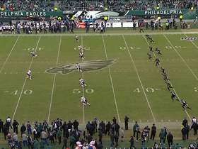 Watch: Eagles recover muffed kickoff to end game